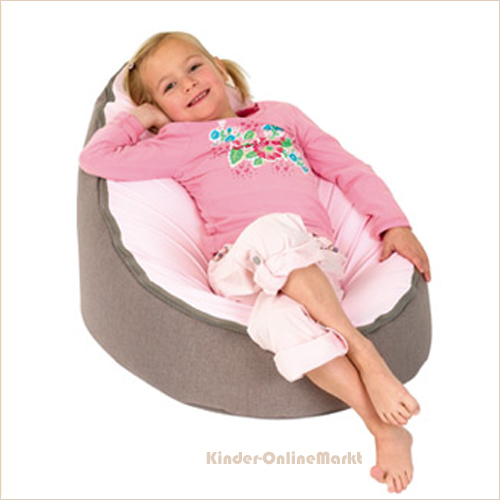 doomoo seat sitzsack home taupe rosa kinder. Black Bedroom Furniture Sets. Home Design Ideas