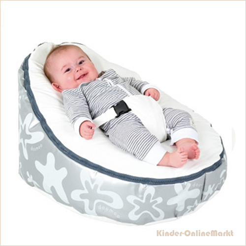 doomoo seat sitzsack splash silber kinder onlinemarkt. Black Bedroom Furniture Sets. Home Design Ideas