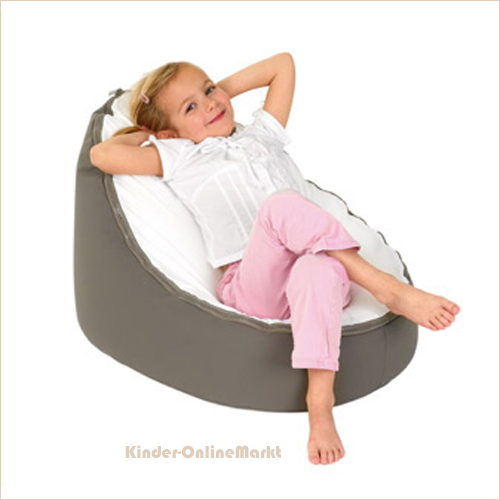 doomoo seat sitzsack colors taupe kinder onlinemarkt. Black Bedroom Furniture Sets. Home Design Ideas