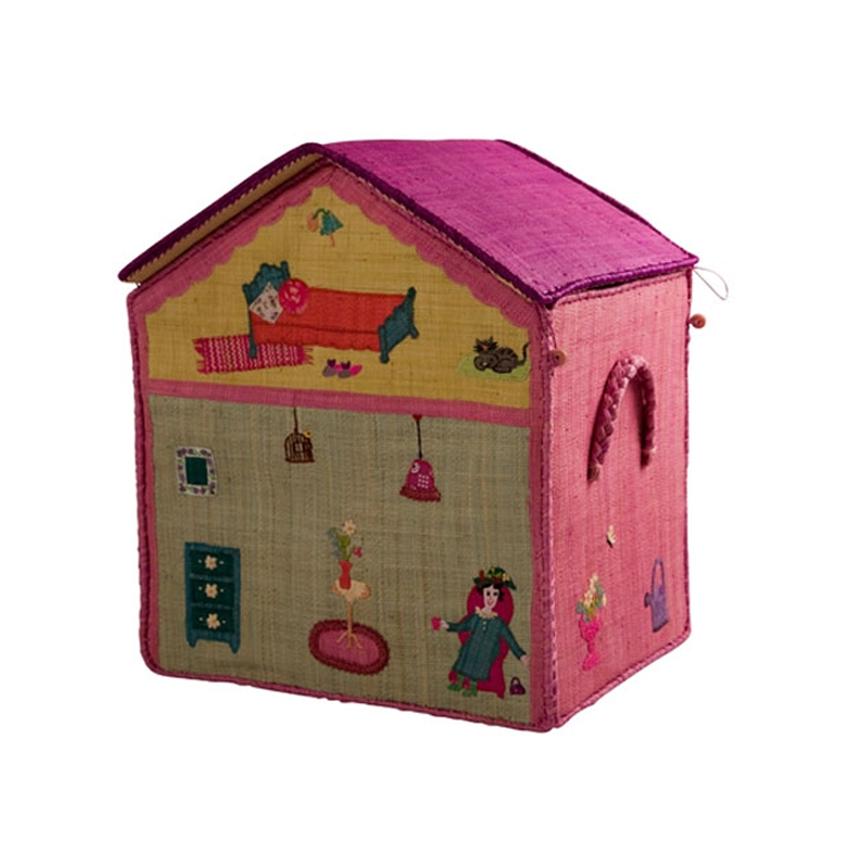 Rice spielzeugtruhe girls houses er set kinder