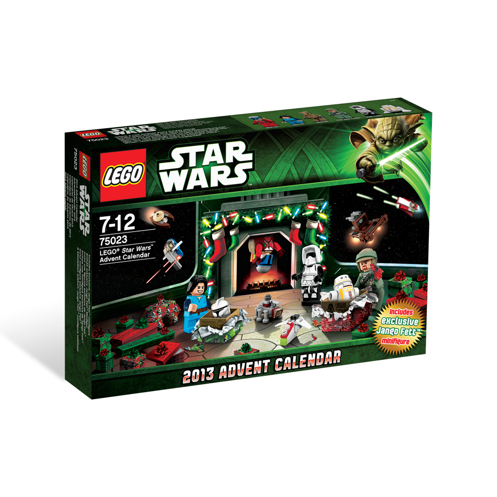 lego star wars 75023 adventskalender 2013 kinder. Black Bedroom Furniture Sets. Home Design Ideas