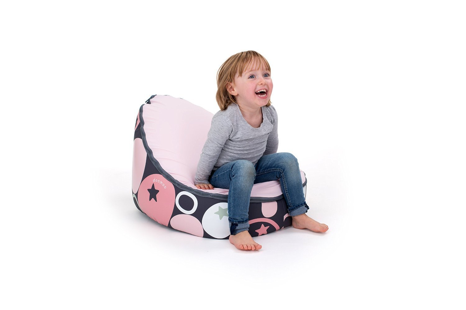 doomoo seat sitzsack stone rosa kinder onlinemarkt. Black Bedroom Furniture Sets. Home Design Ideas