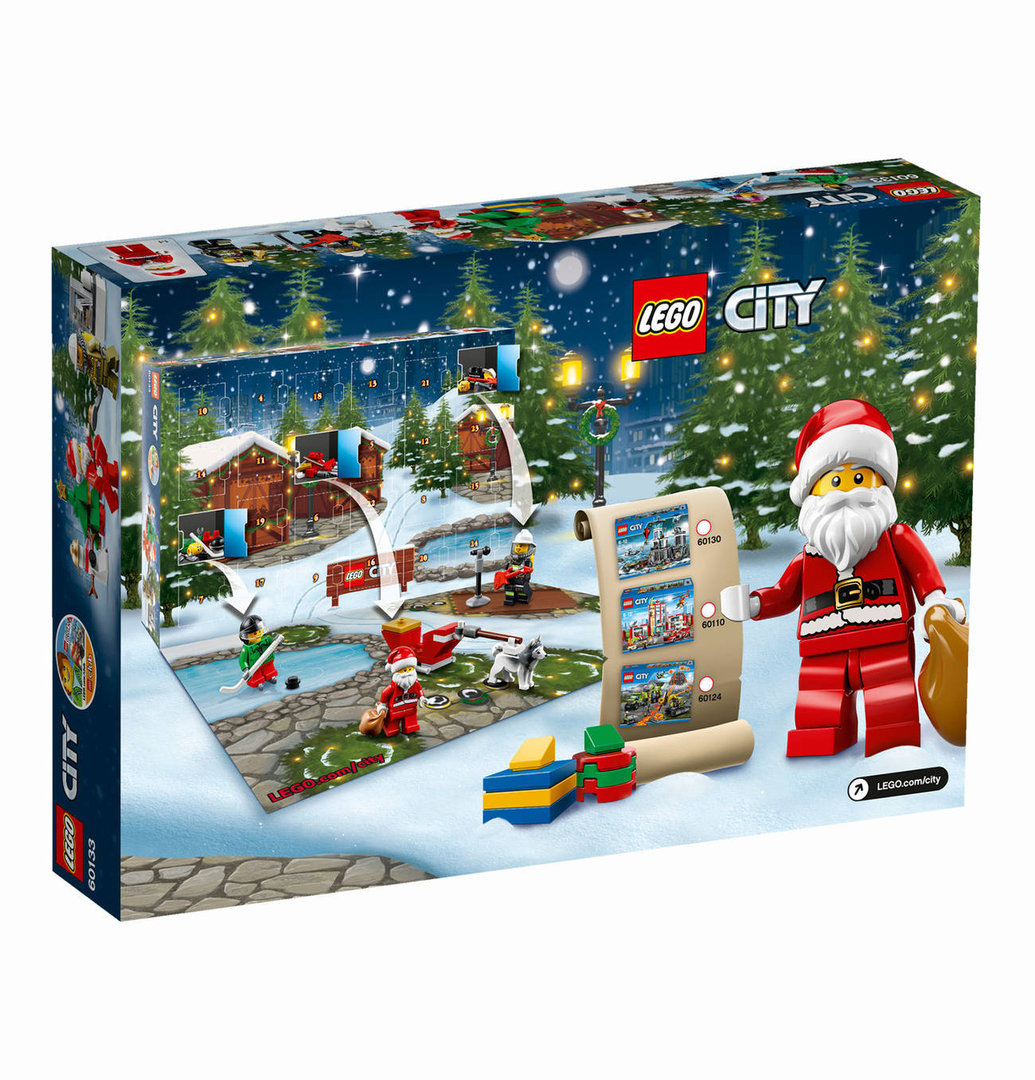 lego city adventskalender 2016 60133 kinder onlinemarkt. Black Bedroom Furniture Sets. Home Design Ideas